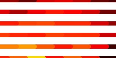 modello vettoriale arancione scuro con linee