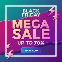 vendita mega venerdì nero