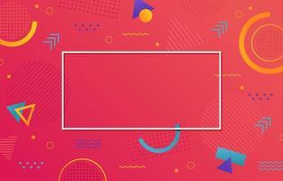 sfondo geometrico astratto minimalista vettore