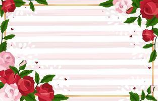 sfondo rosa rossa e rosa vettore