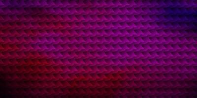 sfondo vettoriale rosa scuro, blu con rettangoli.
