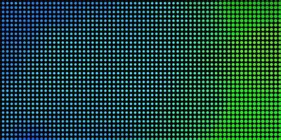 layout vettoriale azzurro, verde con cerchi.