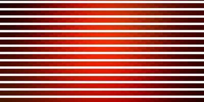 sfondo vettoriale arancione scuro con linee