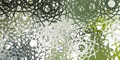texture vettoriale grigio chiaro con forme di memphis.