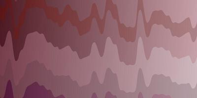 sfondo vettoriale rosa chiaro con linee.