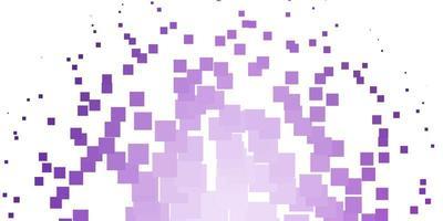 sfondo vettoriale viola chiaro con rettangoli.