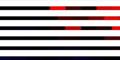 modello vettoriale rosso scuro con linee.
