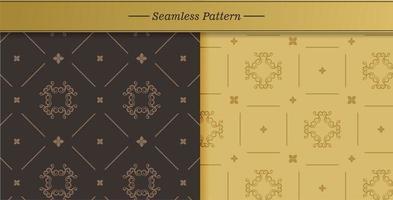 set di texture senza soluzione di continuità vettore
