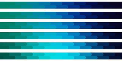 sfondo vettoriale azzurro, verde con linee