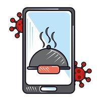 ordina cibo online nuovo normale dopo il coronavirus covid 19