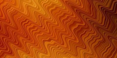 sfondo vettoriale arancione chiaro con linee.