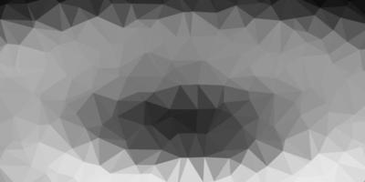 modello di triangolo poli vettoriale grigio chiaro.