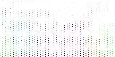 sfondo vettoriale multicolore chiaro con macchie.