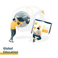 pagina di destinazione educazione globale