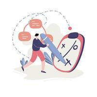 illustrazione sviluppo del business vettore