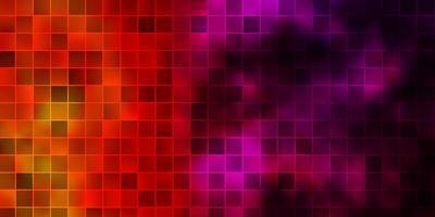 sfondo vettoriale rosa chiaro, giallo in stile poligonale.