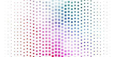 trama vettoriale multicolore scuro in stile rettangolare.