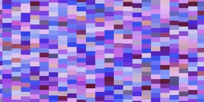 trama vettoriale multicolore leggera in stile rettangolare.