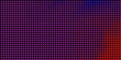 trama vettoriale rosa chiaro, blu con cerchi.