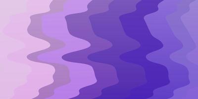 sfondo vettoriale viola chiaro, rosa con arco circolare.