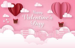 felice banner di celebrazione di san valentino