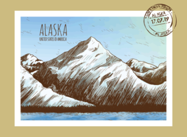 Cartoline dall'Alaska