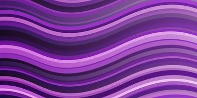 layout vettoriale viola chiaro, rosa con curve.