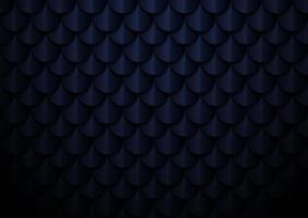 astratto elegante blu scuro geometrico semicerchio pattern di sfondo e texture vettore