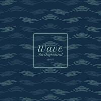 fondo astratto del modello della linea dell'onda dell'acqua blu. vettore