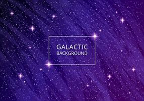 Sfondo galattico ultra violetto vettore