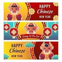 Banner di capodanno cinese 2020