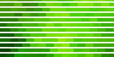 sfondo vettoriale verde chiaro, giallo con linee.
