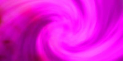 modello vettoriale rosa chiaro con cielo, nuvole.