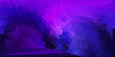 disegno poligonale geometrico di vettore viola scuro, rosa.