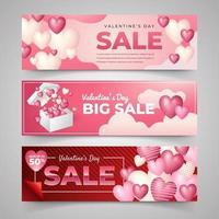 banner di marketing di San Valentino