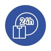 tempo 24 ore di servizio e stile box block