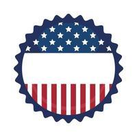 USA sigillo timbro disegno vettoriale