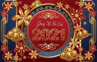 concetto di sfondo del capodanno cinese