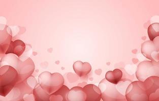 sfondo di San Valentino vettore