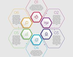 illustrazione di vettore di progettazione infografica concetto di affari