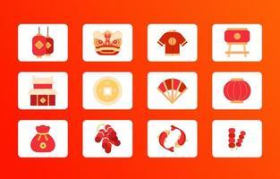 festa del capodanno cinese vettore