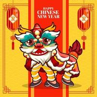 illustrazione di festività del capodanno cinese
