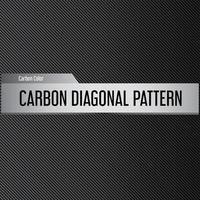 modello diagonale in carbonio vettore