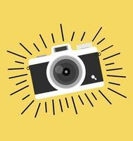 vettore fotocamera vintage