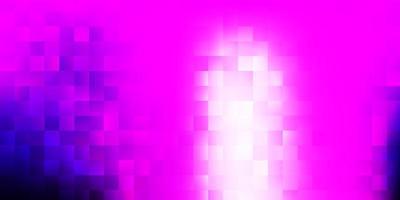 copertina vettoriale rosa chiaro in stile quadrato.