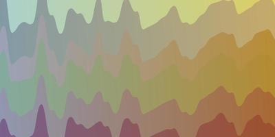sfondo vettoriale multicolore chiaro con fiocchi.