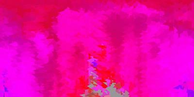 design poligono sfumato vettoriale rosa scuro.