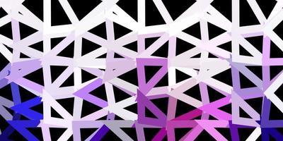 struttura del poligono gradiente vettoriale viola chiaro.