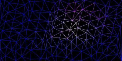 disposizione poligonale geometrica di vettore rosa chiaro, blu.