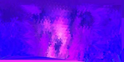 struttura del triangolo poli vettore viola scuro.